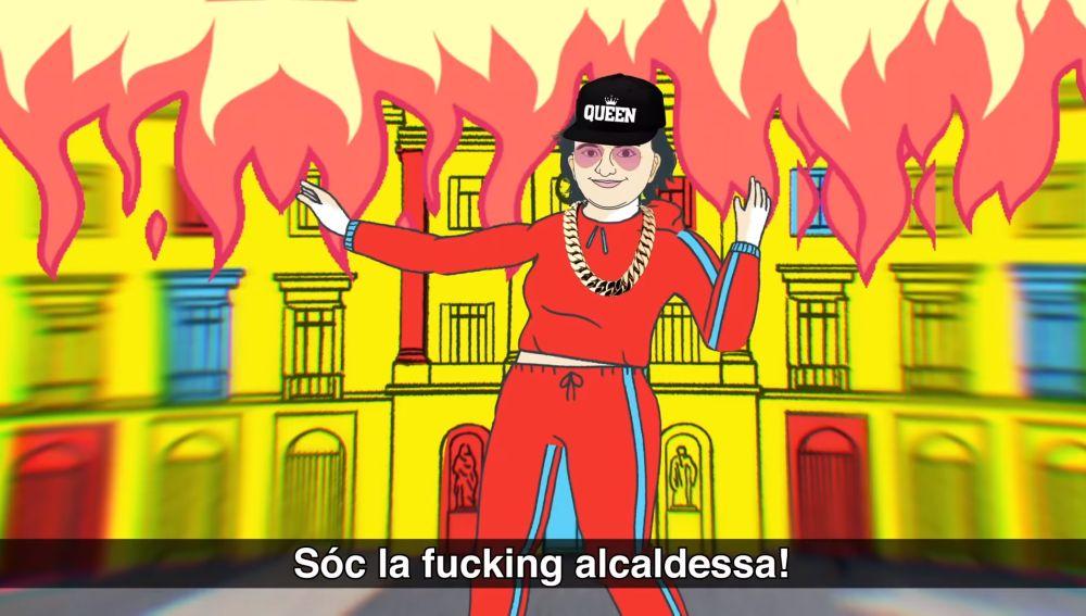 Fotograma del videoclip 'Ada is in da house'.