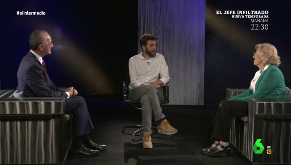 Los momentos más dulces y más amargos de Manuela Carmena y Francisco de la Torre durante su mandato