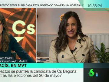 """Begoña Villacís no se cierra a un pacto con Vox en el Ayuntamiento de Madrid: """"Nuestra línea roja va a ser el programa"""""""