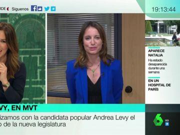 """Andrea Levy: """"Manuela Carmena ha sido más alcaldesa del mundo que de Madrid"""""""