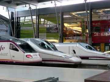 AVE en la Estación de Málaga