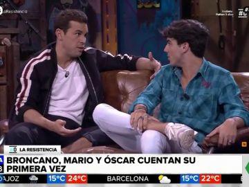 Mario Casas y Óscar Casas
