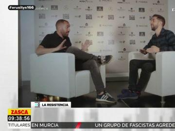 """El 'dardo' de Jorge Ponce a Federer tras su entrevista en 'La Resistencia': """"Hay que ser despreciable para ir tan de humilde"""""""