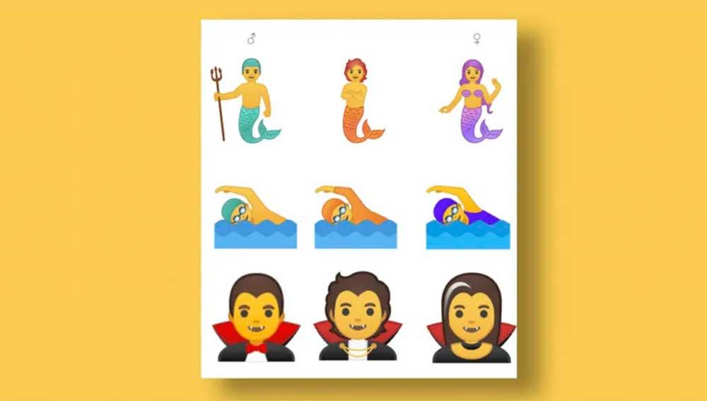 emoji de género fluido