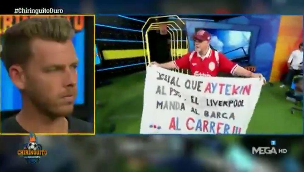 Alfredo Duro estrena nuevo 'hit' tras la derrota del Barça en Anfield