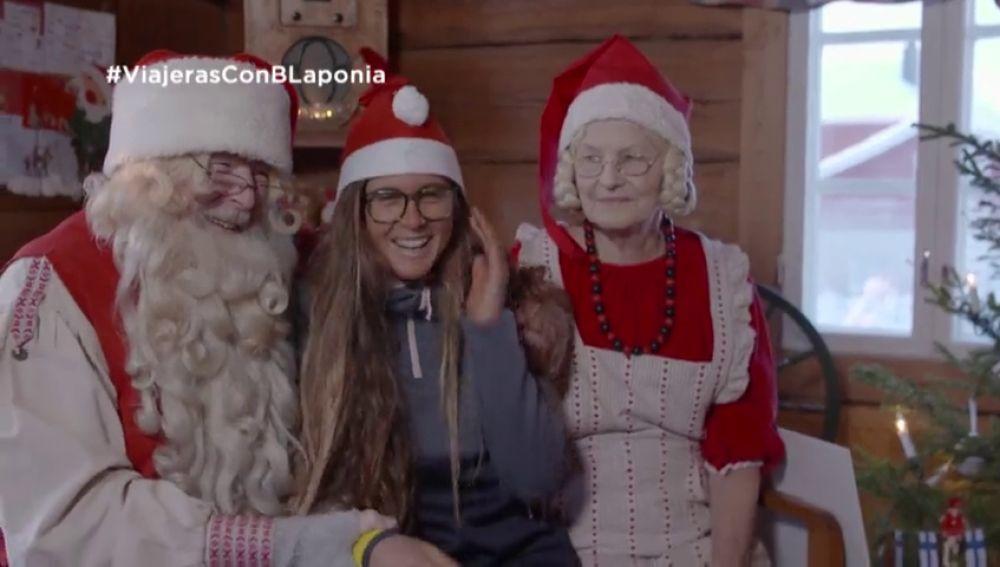 La aventura de Gisela Pulido como elfa de Papá Noel: así fue su experiencia en Laponia con Viajeras con B