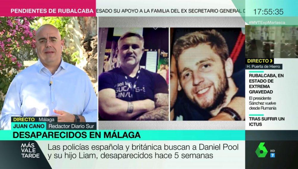 Las policías española y británica buscan a Daniel Pool y su hijo Liam, desaparecidos en Estepona