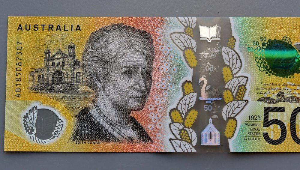Billete de 50 dólares australianos
