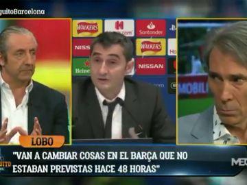 La revelación de Lobo Carrasco sobre el futuro de Valverde en el Barça