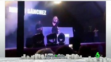 Boicot a Marta Sánchez durante un concierto