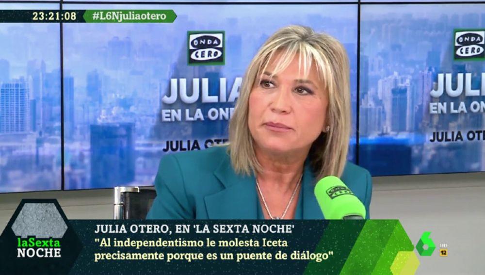 """El análisis de Julia Otero sobre la situación en Cataluña: """"No veo remedio"""""""