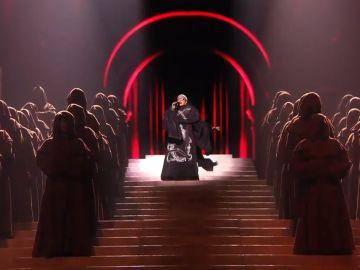 Interpretación de Madonna en Eurovisión