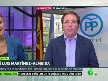 Martínez Almeida en Liarla Pardo