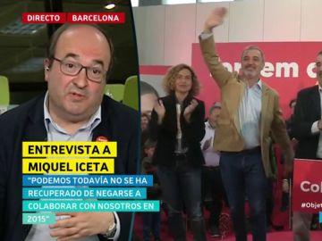 Miquel Iceta en El Objetivo