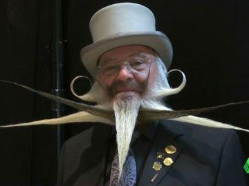 Concurso de barbas en Bélgica