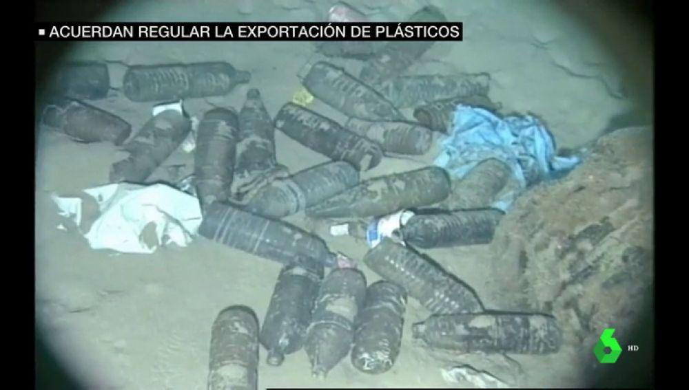 Acuerdo internacional contra el tráfico de residuos plásticos que ensucian los mares
