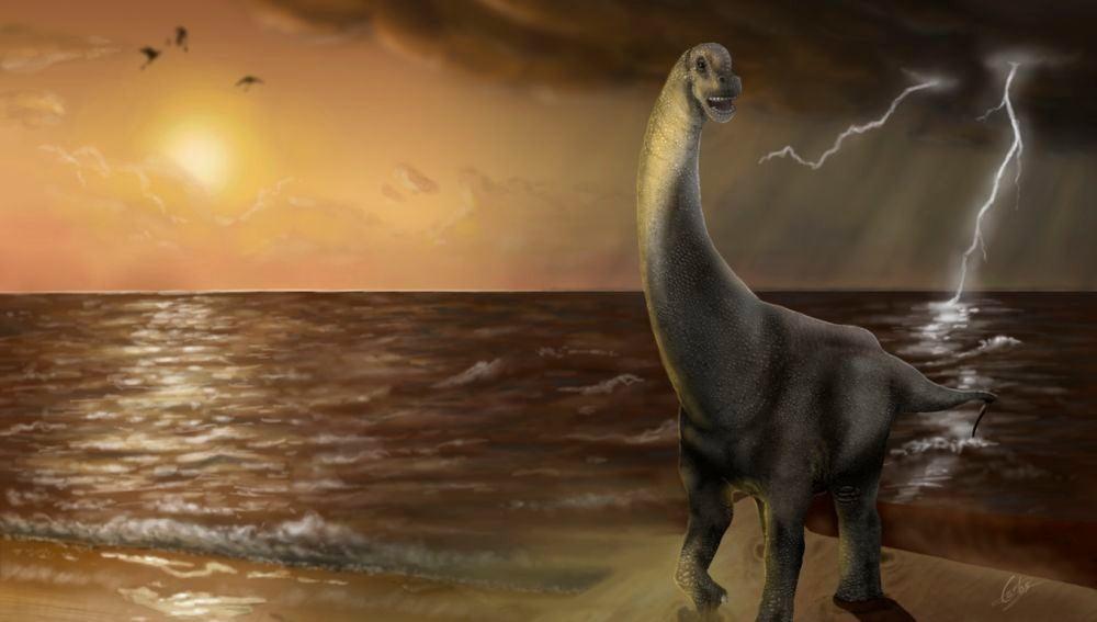 Oceanotitan un nuevo dinosaurio del Jurasico Superior de Portugal