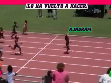 El 'nuevo Bolt' de siete años vuelve a la carga con una nueva exhibición