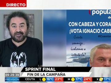 """De """"el trabuco que tú quieres"""" a """"por Coruña mato"""": El Sevilla analiza los """"mejores"""" eslóganes de campaña"""