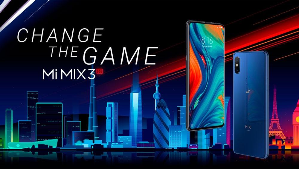 Nuevo Xiaomi Mi Mix 3 5G