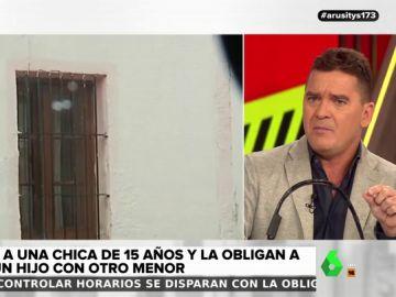 Carlos Quílez revela los detalles del secuestro de la joven forzada a mantener relaciones con otro menor