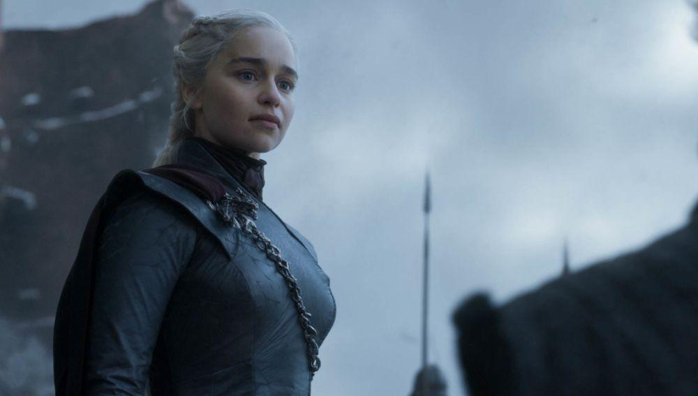 Daenerys Targaryen en el capítulo final de 'Juego de Tronos'