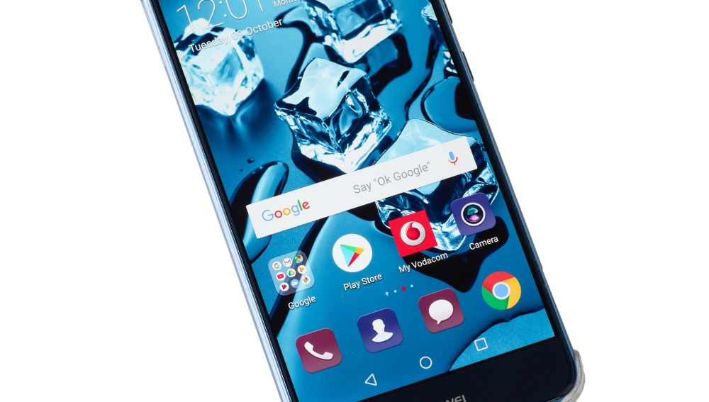 Imagen de archivo de un dispositivo Huawei.