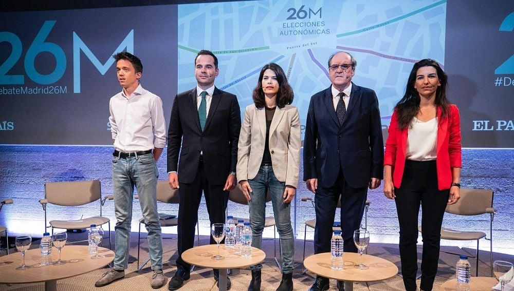 Debate de candidatos a la Presidencia de la Comunidad de Madrid