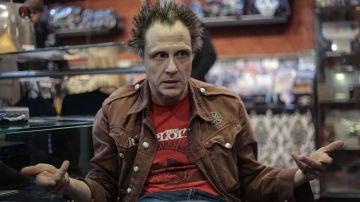 El agitador punk Dani Mortaja