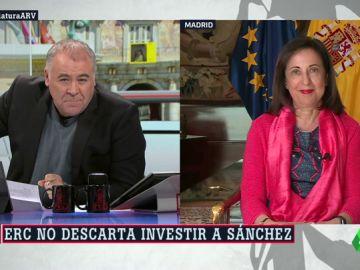 """Margarita Robles defiende la """"necesidad"""" de que el PSOE siga gobernando: """"Va a ser difícil que haya grupos que se opongan"""""""