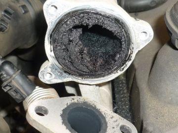 Carbonilla en motor diésel