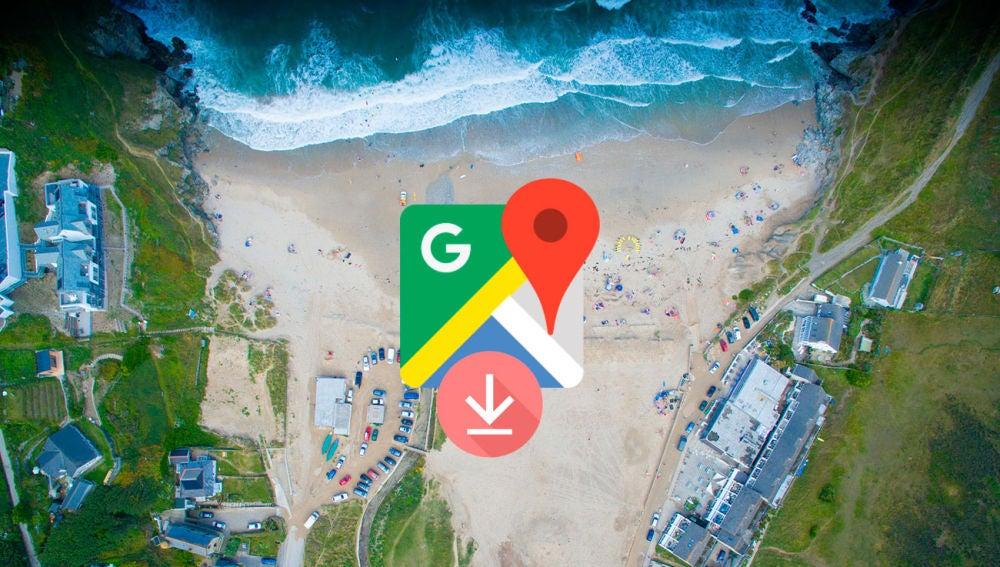 Descargar los mapas de Google Maps