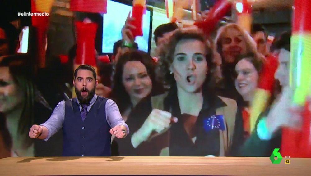 """Dani Mateo desvela en un """"pormenorizado"""" análisis de Eurovisión qué política estuvo muy """"a tope"""" con Miki"""