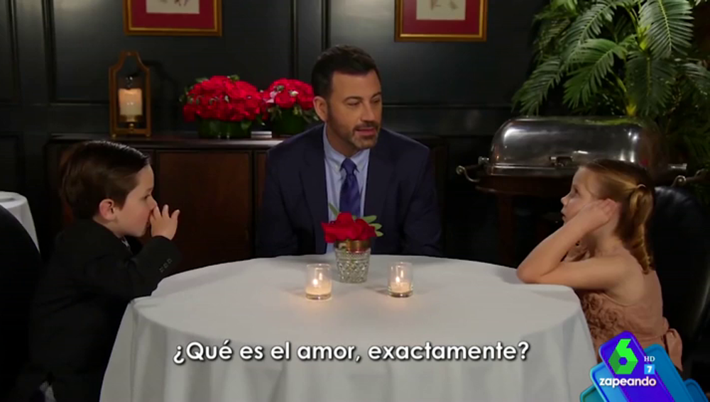 ¿Qué es el amor exactamente?: la enternecedora reflexión de dos niños en el programa de Jimmy Kimmel