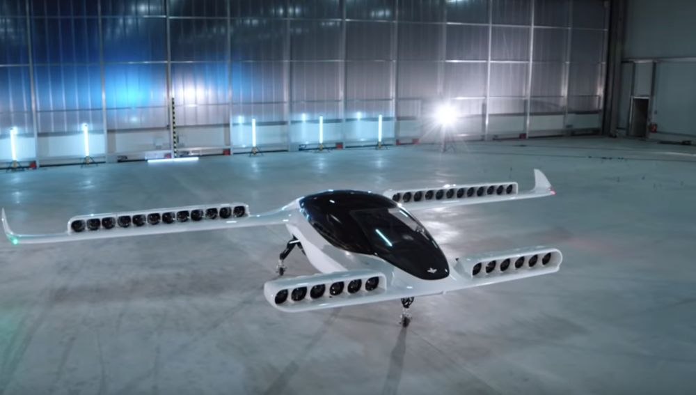 El aerotaxi de 'Lilium'