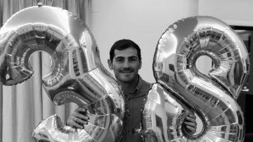 Iker Casillas, portero del Oporto