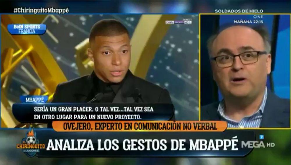 """Un experto en comunicación no verbal analiza a Mbappé: """"Se siente seguro al hablar de otro proyecto y avergonzado cuando habla del PSG"""""""