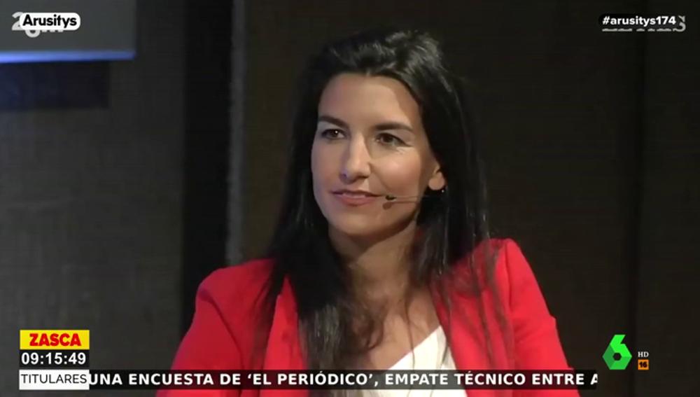 "Íñigo Errejón, a Rocío Monasterio (Vox): ""Para ser de colegio privado está usted mal educada"""