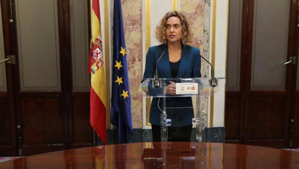 La presidenta del Congreso, Meritxell Batet
