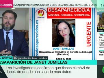 """El abogado de la familia de Janet Jumillas: """"El cuerpo encontrado presenta un corte trasversal en el cuello y un golpe en la cabeza"""""""