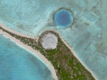 El domo de Runit es una estructura construida en la isla del mismo nombre