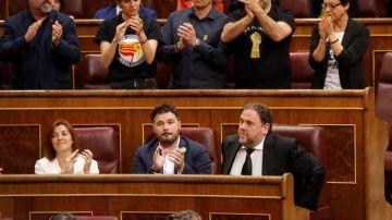 """laSexta Noticias 14:00 (22-05-19) La Fiscalía exige la suspensión """"inmediata"""" de los diputados presos del 'procès'"""