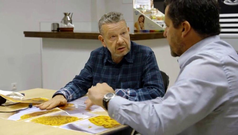 """Chicote pone en apuros a los responsables de la alimentación en el cuartel de Camposoto, Cádiz: """"¿Esto se lo comerían ustedes?"""""""
