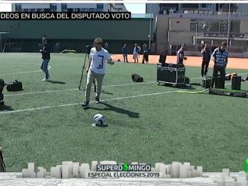 Vídeos contra el 'viejismo', goles sin rastro de siglas y otras formas de llamar al voto de cara al 26M