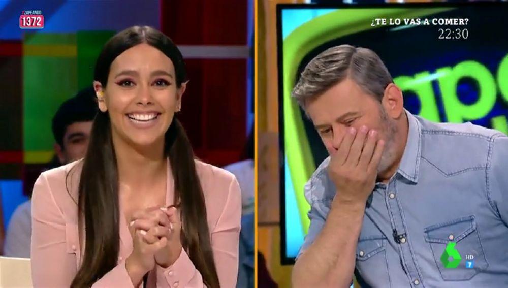 Cristina Pedroche pone contra las cuerdas a Miki Nadal