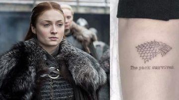 Tatuaje de Sophie Turner