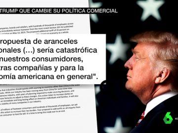 Rebelión de las grandes marcas contra Trump por la guerra comercial