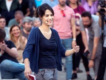 La candidata de Unidas Podemos IU Madrid en Pie para la Comunidad, Isa Serra