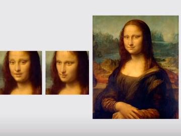 La Mona Lisa generada con la IA Deepfake de Samsung