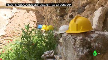 La lucha de los repobladores de Fraguas: obligados a demoler el pueblo que han reconstruido